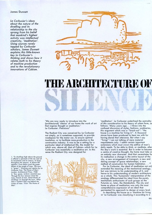 The Architecture of Silence